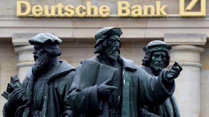 Deutsche Bank gaat groot aantal banen schrappen