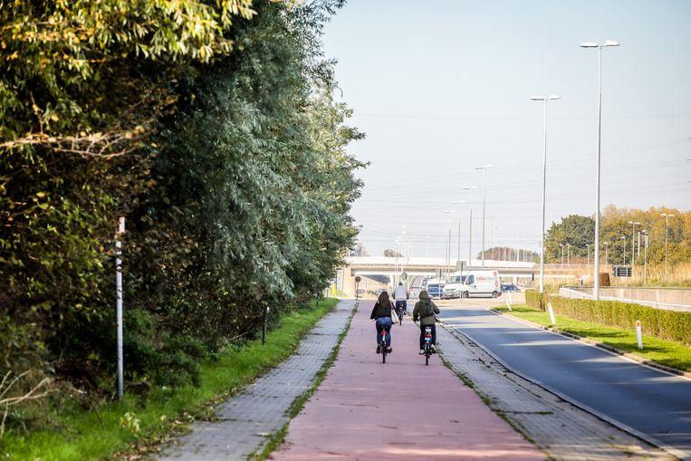 Brugge er komen extra geluidsschermen aan de expressweg