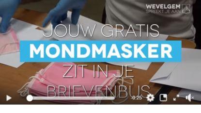 Foutje bij instructies: mondmaskers gemeente Wevelgem niet bestand tegen strijken