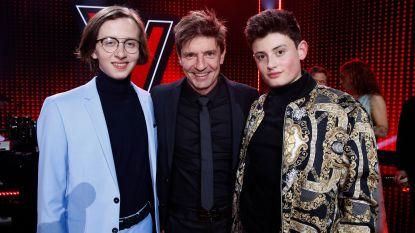 'The Voice'-finalist Wannes staat z'n coach Koen Wauters bij in 'Wat een Jaar!'