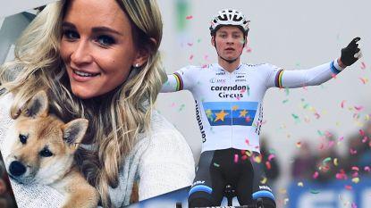 """Ook het privéleven van Mathieu van der Poel loopt op wieltjes: """"Ik heb een vaste vriendin en het is een Belgische"""""""