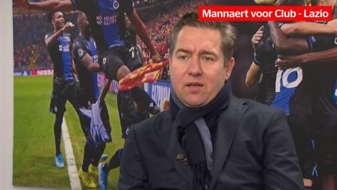 """Wint Club ook van Lazio? Mannaert: """"Moeilijk te voorspellen wat effect is van ontbreken aantal schakelspelers"""""""