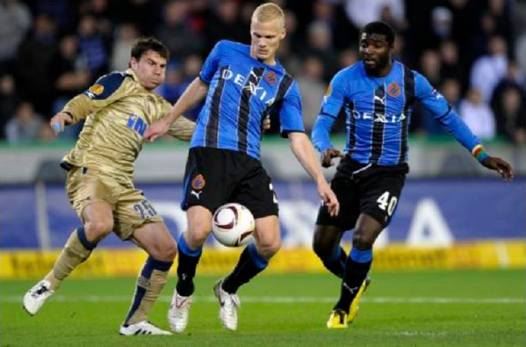 Geraerts en Kouemaha steken de handen uit de mouwen tegen Dinamo Zagreb.