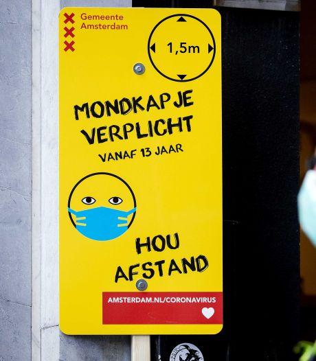 Mondkapjesplicht in grote steden verwarrend: 'We wachten nog even met boetes uitdelen'