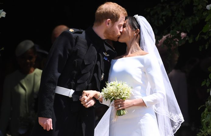 Harry en Meghans bruiloft