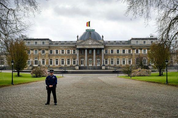 Het Koninklijk Paleis in Laken.