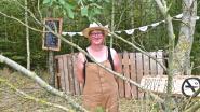 """Melanie vormt privébosje om tot bosbar 't Lotegatbos: """"Parkeer je fiets tegen een boom en geniet van een lokaal hapje of drankje"""""""