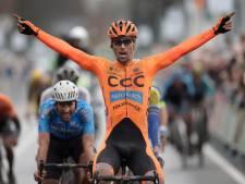 Tsjech Sisr juicht in Ronde van Drenthe, Wesley Kreder vijfde