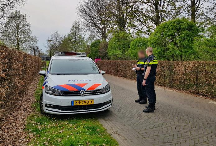 De politie deed dinsdagavond onderzoek in Diessen.