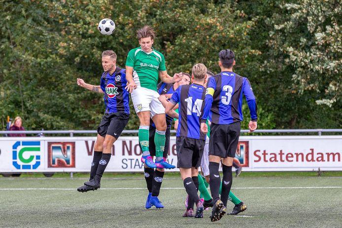 GRC'14 tegen Nieuw Lekkerland.