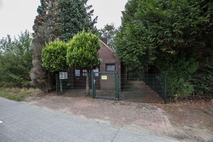 De onteigening van het diepvrieshuisje aan de Ganzestraat in Hapert gaat niet door.