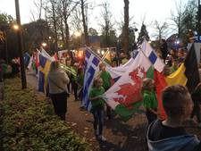 Vlaggenparade als aftrap Europees Plattelands Parlement in Venhorst