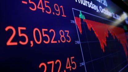 Weer uitverkoop op Wall Street
