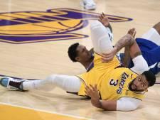 Les Lakers, tenants du titre, battus par les Clippers en ouverture de la saison