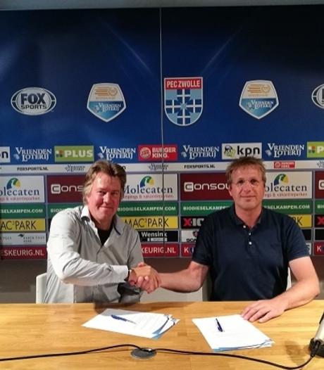 Van der Wal trainer vrouwen PEC Zwolle