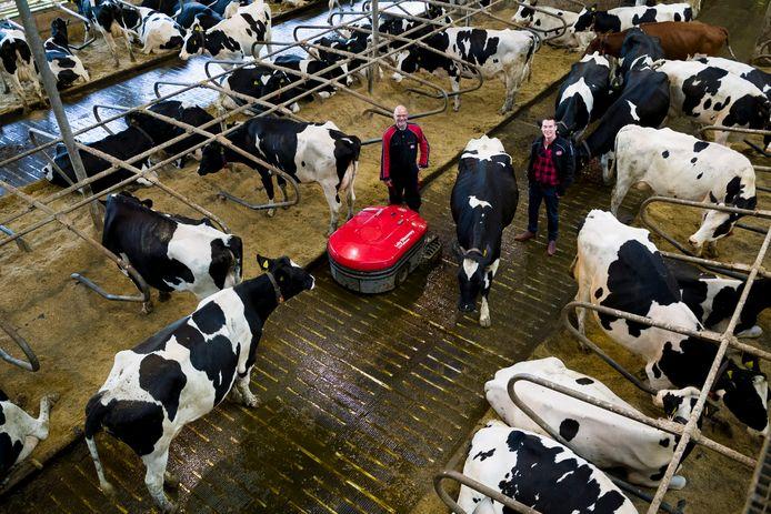 Lely Industries, producent van onder meer robots en datasystemen voor de melkveehouderij, ontwikkelde een uniek systeem dat koeienpoep en urine scheidt bij de bron.
