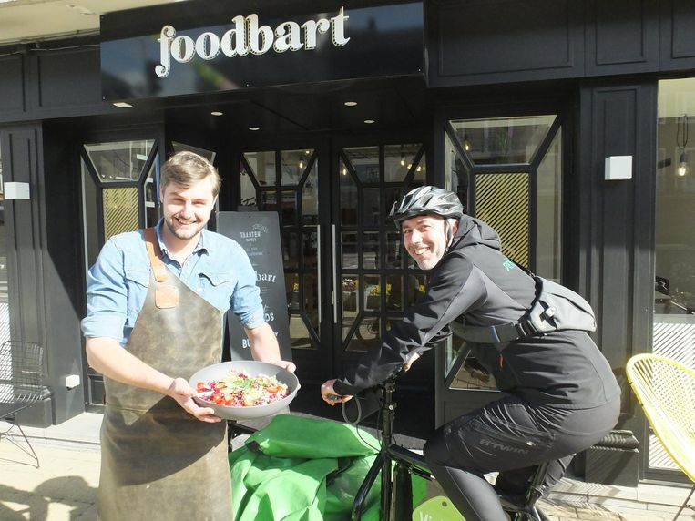 Bart Vandekerckhove (Foodbart) en Dimitri Ornelis (ViaVélo).