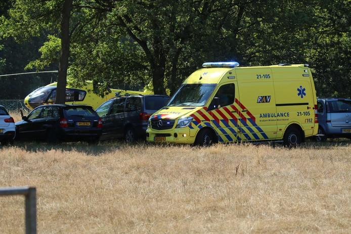 Man onder invloed van GHB afgevoerd van Ijzeren Man in Vught naar ziekenhuis.