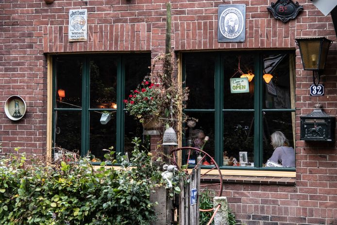 Café Merijn bij Groesbeek.