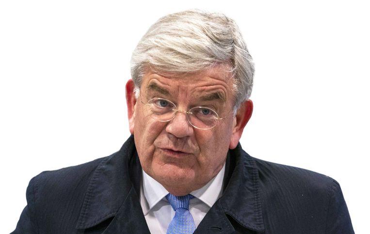 Burgemeester Jan van Zanen van Utrecht is voorgedragen om de nieuwe burgemeester van Den Haag te worden.  Beeld ANP