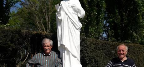 Heilig Hartbeeld waakt voortaan over de graven van Moergestel: zegening volgt na de coronacrisis