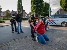 Politie gaat op boevenjacht in Veenendaal