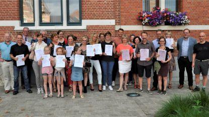 Start-to-Runners ontvangen diploma