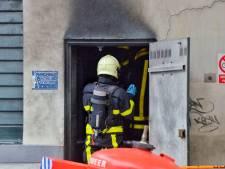 Explosie en brand Bergen op Zoom in beeld