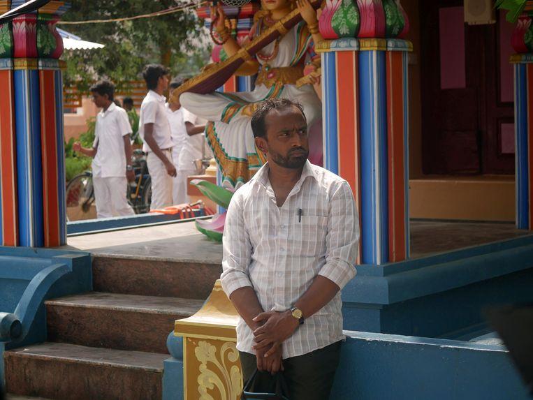 Koumarane Valavane straalt als Nasir een innemende kalmte uit.  Beeld