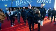 Klimaatactivisten Extinction Rebellion die actievoerden op autosalon krijgen elk dagvaarding van 2.000 euro