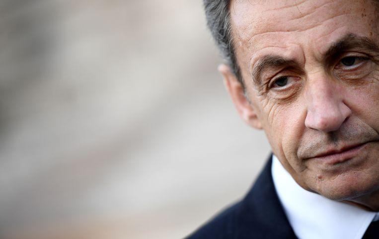 Oud-president Nicolas Sarkozy. Beeld Franck Fife / AFP