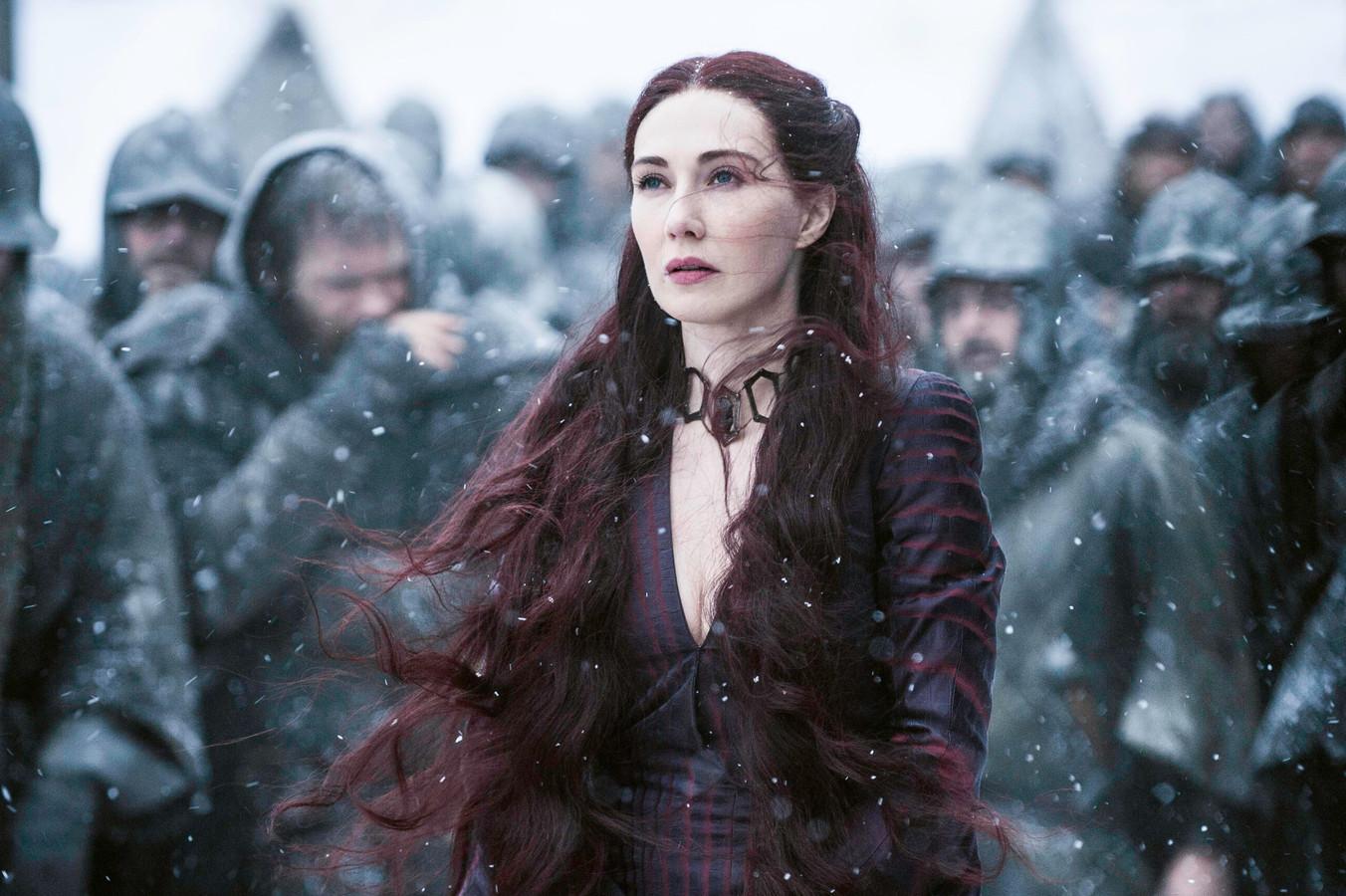 Game of Thrones Carice van Houten speelt Melisandre.