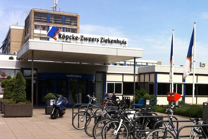 Het Röpcke-Zweers Ziekenhuis in Hardenberg.