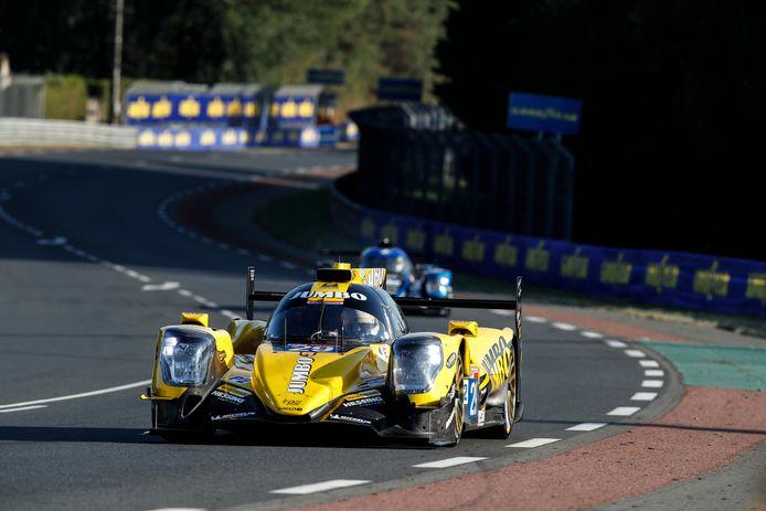 De wagen van Racing Team Nederland.