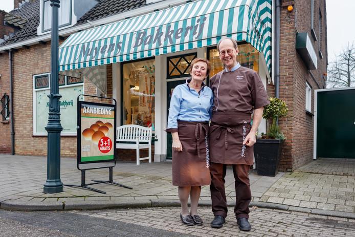 Bakkersechtpaar Monique en Pierre Nuyens.