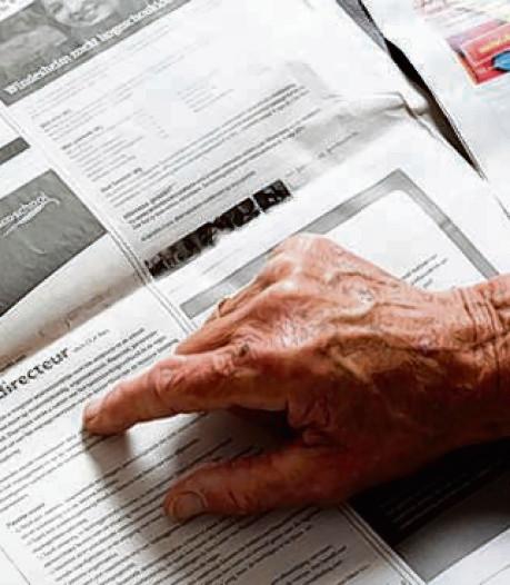 De Mos wil sollicitatieplicht voor 60-plussers schrappen
