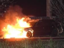 N207 afgesloten door autobrand