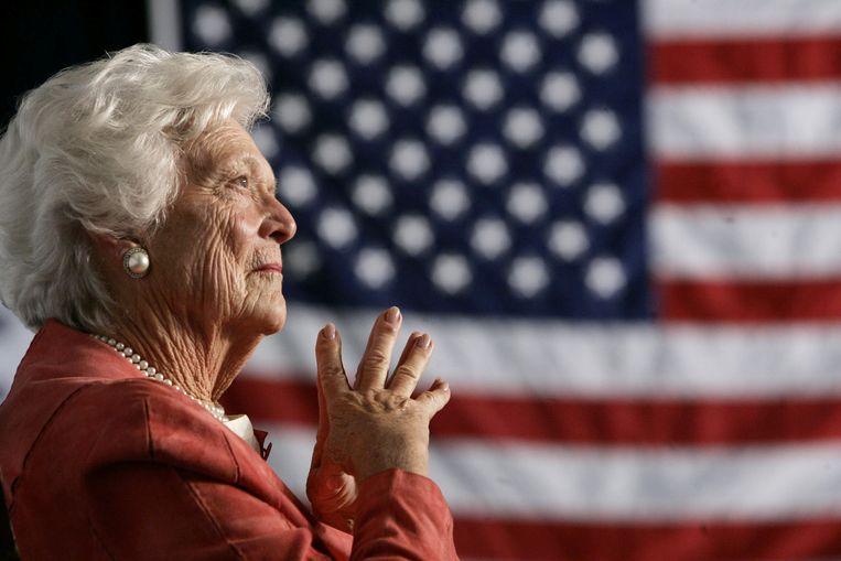 Barbara Bush Vrouw én Moeder Van Een Amerikaanse President