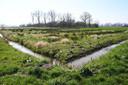 Een poldergebied in Noord-Brabant