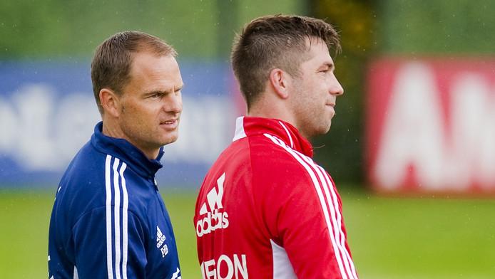 Frank de Boer en Theo Janssen.