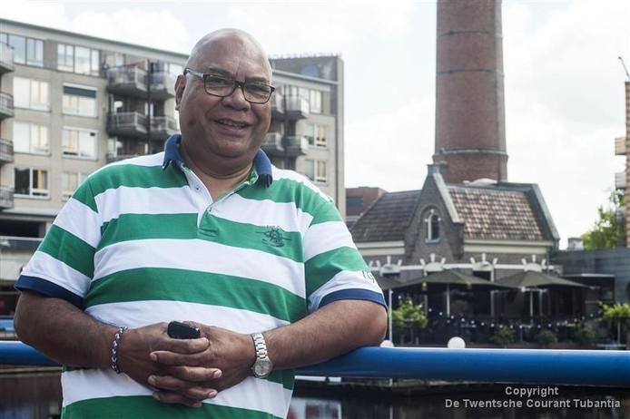 Paul Salakory is één van de coördinatoren van de Pasar Maluku