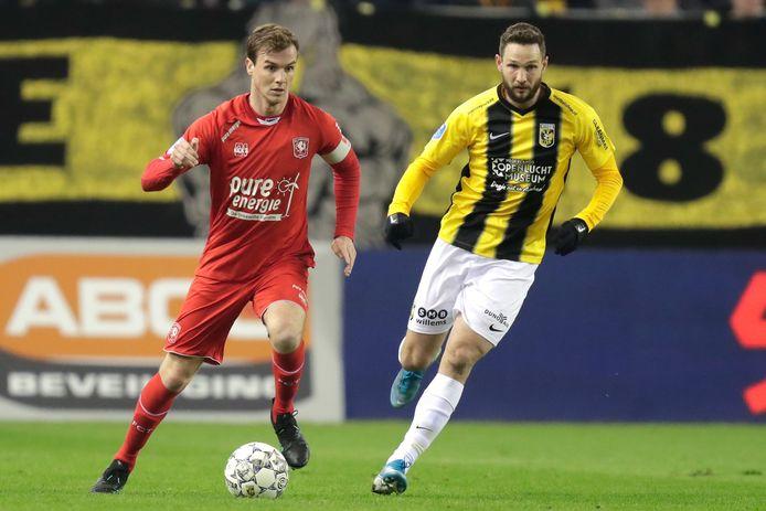 Het contract van FC Twente-aanvoerder Peet Bijen loopt na dit seizoen af.