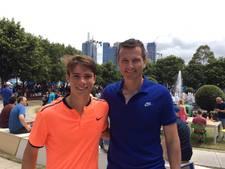 Ryan Nijboer (18) uit Dronten verliest tennisfinale in Egypte