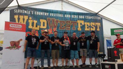 """Smoke On The Wild Side scoort op BBQ-kampioenschap in Slovenië: """"Thuisblijvers gaven advies via tablet"""""""