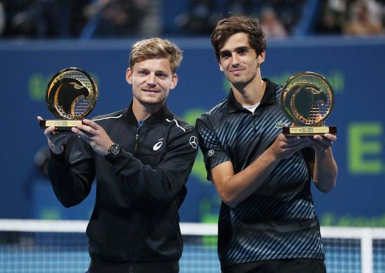 David Goffin en Pierre-Hugues Herbert.