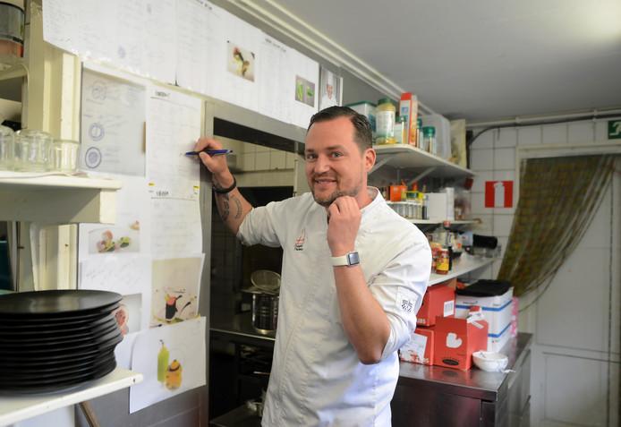 Chefkok Kees Visser in zijn restaurant in Zierikzee