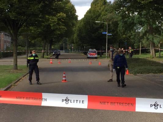 Onderzoek na het schietincident in Nijmegen.