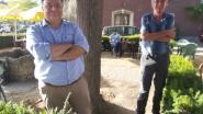 """Marc Van Ranst op bezoek in café Tempo: """"Genoten van een pintje op ons coronaproof terras"""""""