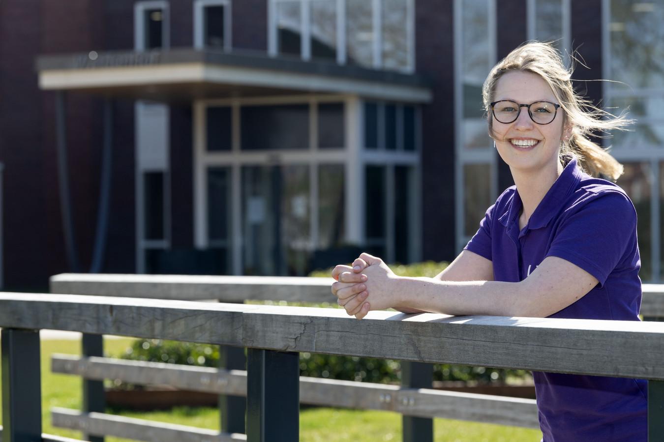 Fysiotherapeute Laure van Heek.