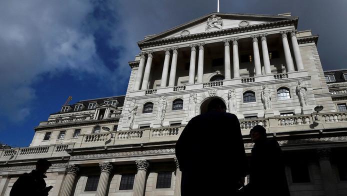La Banque d'Angleterre.